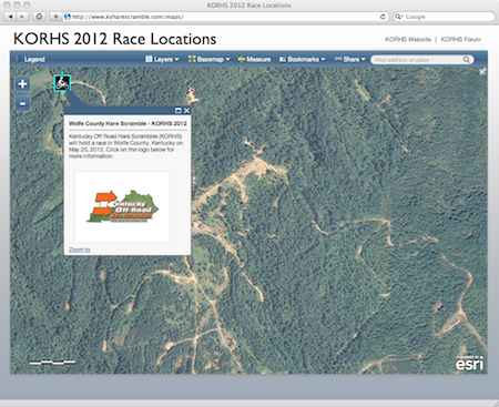 KORHS 2012 Interactive Map