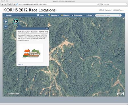 KORHS 2012 Interactive Map