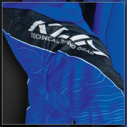 Topographic Lines on Riding Klim Riding Gear