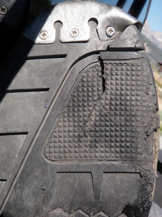 Split Boot Sole