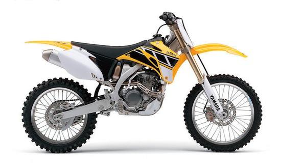 2006 Yamaha YZ250F Anniversary Edition
