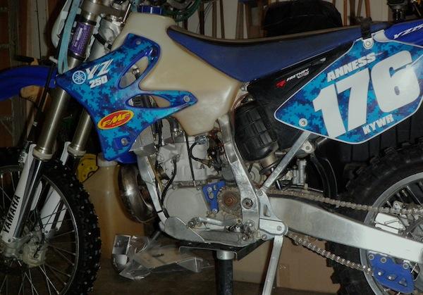 2007 Yamaha WR250