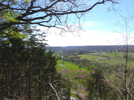 A Spring View from the Overlook
