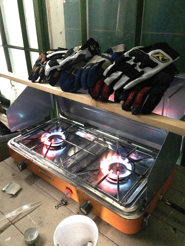 Propane Powered Glove Heater