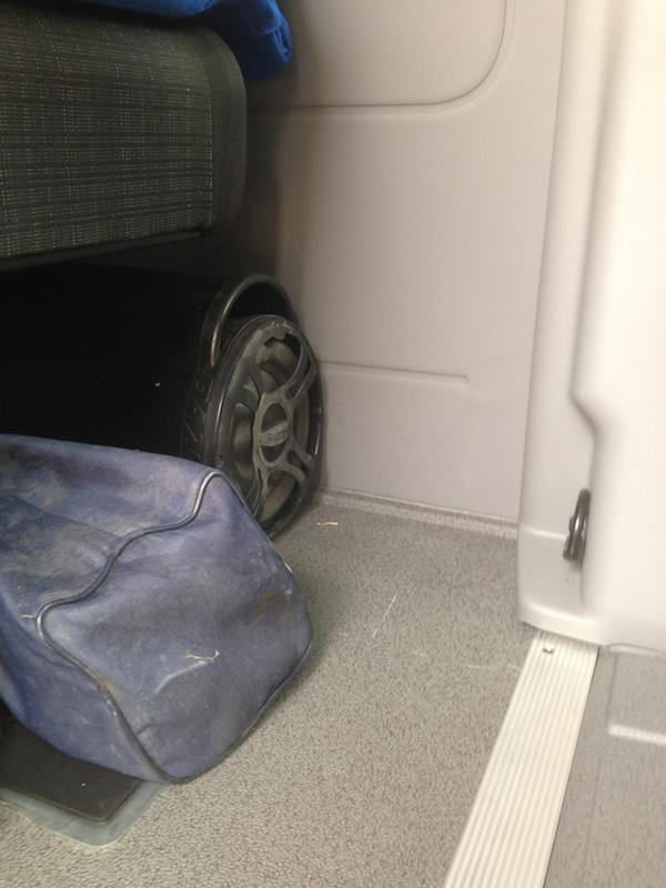 Subwoofer under Rear Seat