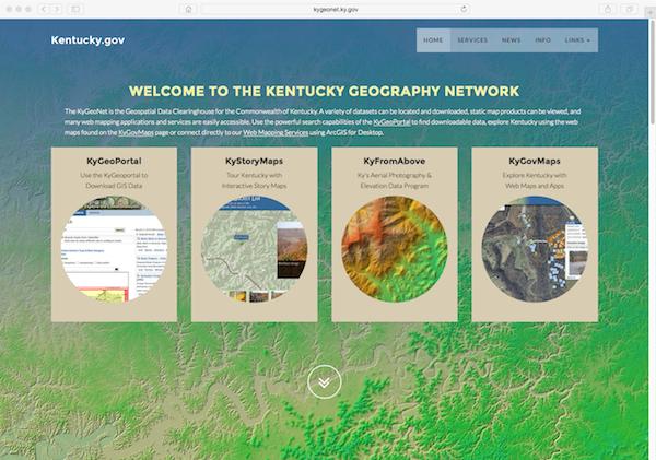 KyGeoNet Homepage