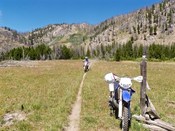 Dwayne on the Beta - Warm Springs Meadow
