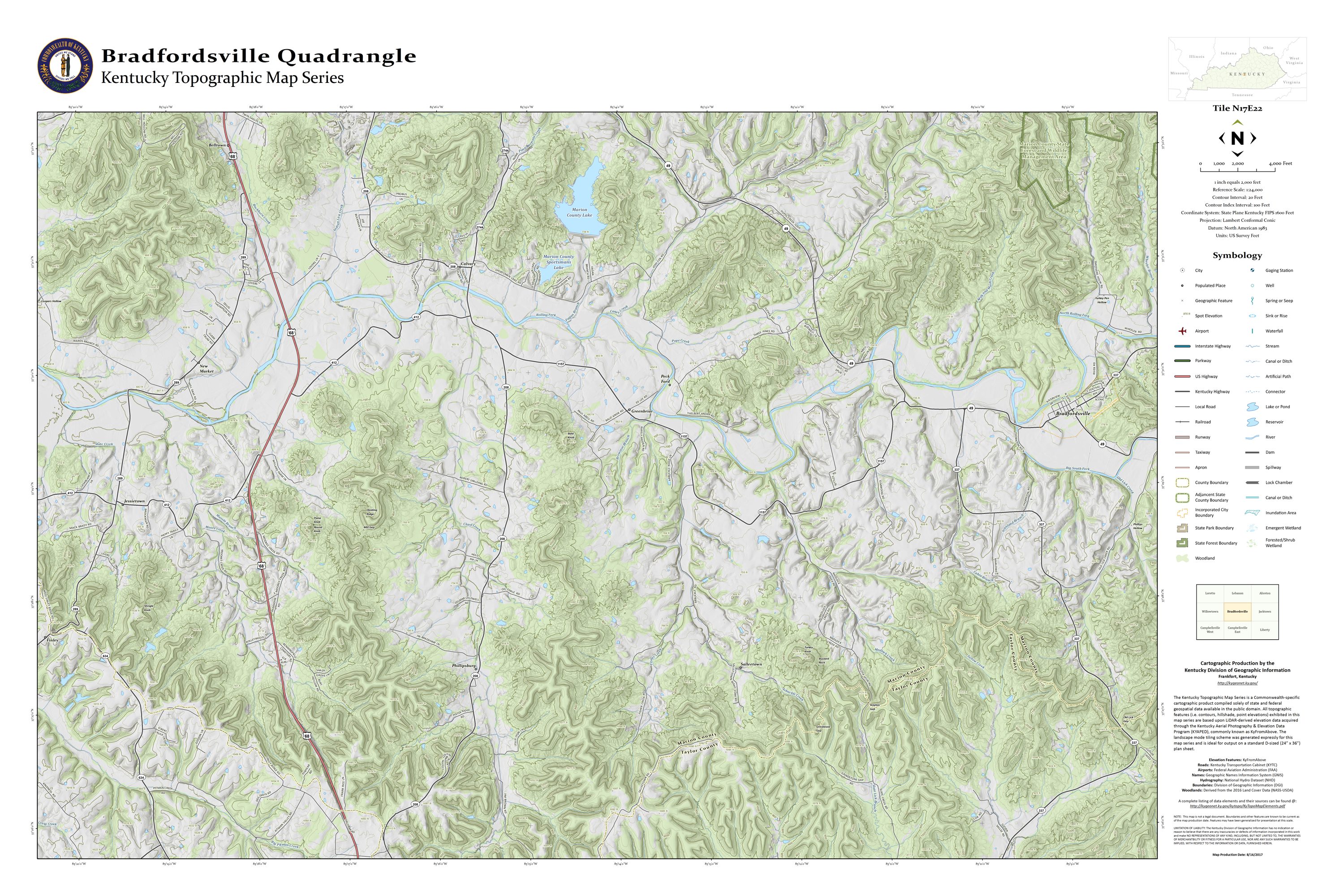 KyTopo: Kentucky\'s New Topographic Map Series | The View from Osage Hill