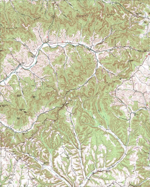 USGS Kentucky DRG Image