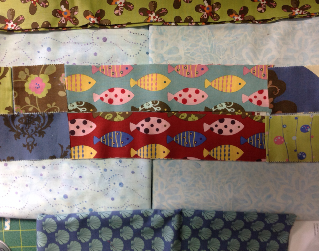 Background Options with Jelly Roll fabrics