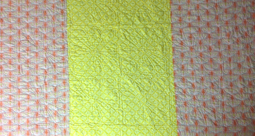 Sunday Morning Quilt back