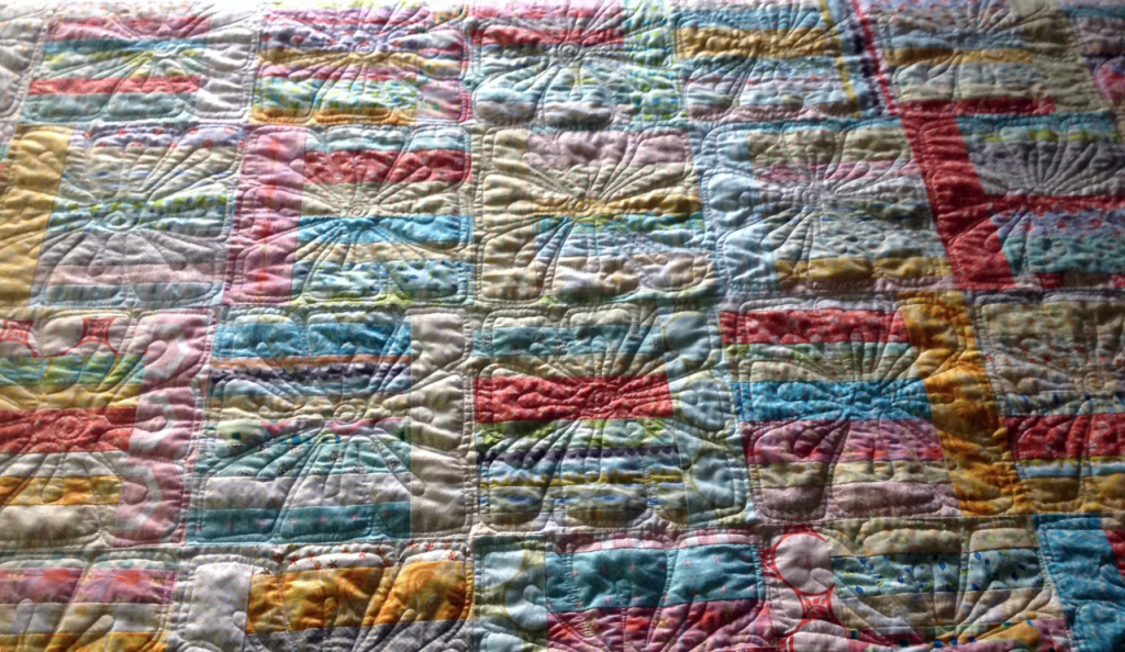 Sunday Morning Quilt quilting