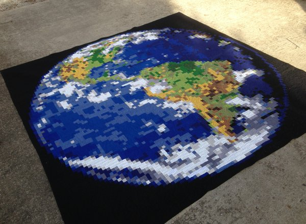 Finished World Quilt